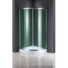 Puerta de ducha de cristal del recinto popular de la ducha del este europeo