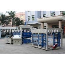 Máquina de fabricação de tijolos de cimento