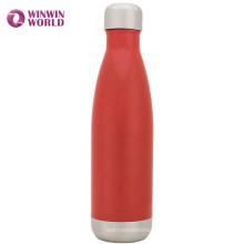 Vente chaude 500 ml en acier inoxydable à double paroi bouteille d'eau de marque privée