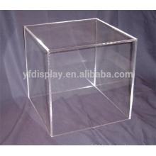 clear acrylic wedding printing hat box