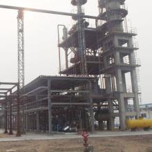 Conversion d'huile moteur usée en usine diesel