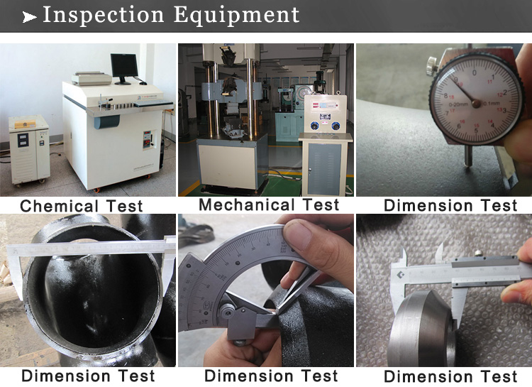 cs pipe fittings inspection equipment