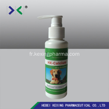 Solution orale de gluconate de calcium animal 50ml