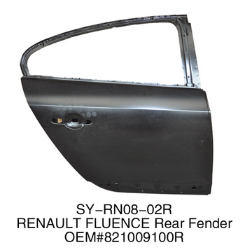Rear Door for Renault Fluence