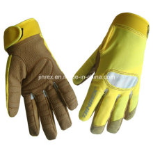 Maschine arbeiten schützende Gel Pads Full Finger Handschuh