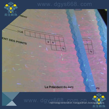 UV Invisible Security Certificate Paper with Fiber Inside