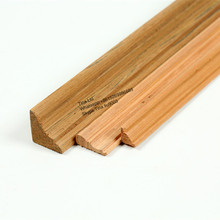Recon teak wood moulding