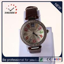 Novo estilo de relógio de pulso relógio de quartzo liga relógio senhora relógio (dc-1789)