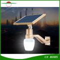 Nuevo todo en uno Apple Shape Street Light 700lm montado en la pared Solar High Brightness Wall Garden lámpara al aire libre IP65