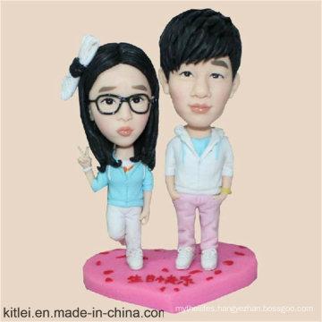 Custom Made Human Figure Plastic Figure with ABS Base