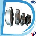 Braçadeira de tubulação do metal do conjunto que cabe o acoplamento resistente hidráulico