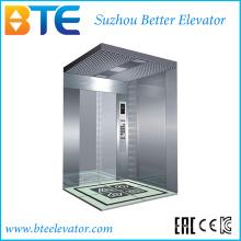 Ce хорошее оформление и стабильный пассажирский лифт без машинного зала