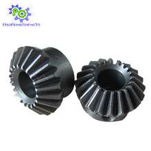 Высокое качество высокой точности стальной материал конического зубчатого колеса завод