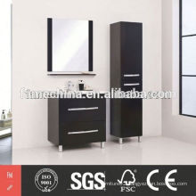 2014 Glossy glass sliding door bathroom cabinet