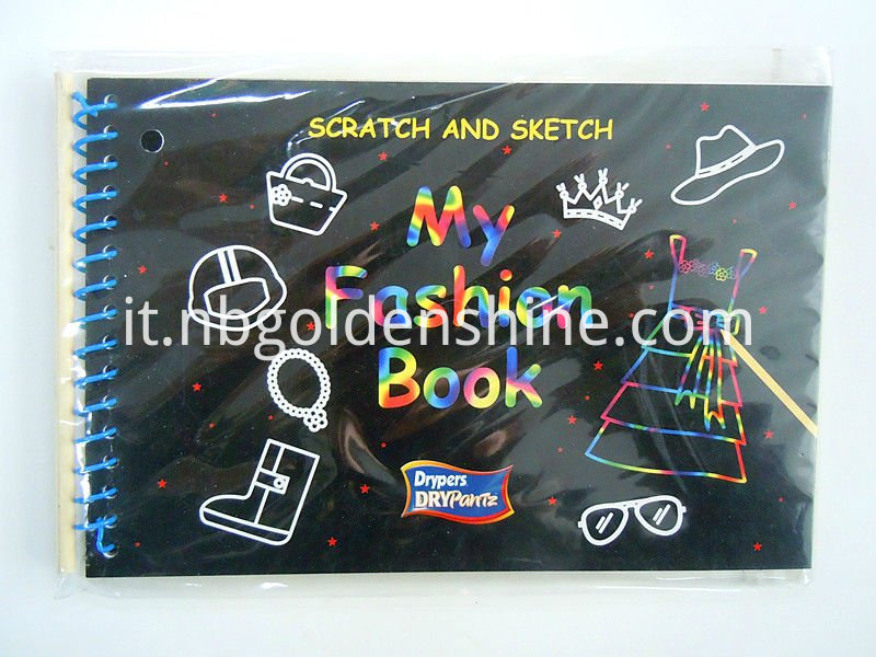 Scratch Art Notebook