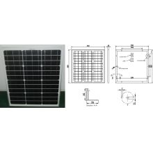 18V 40W Monocrystalline Solar Panel PV Module with Ce Approved