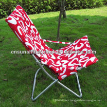 Foldable sun chair for outdoor furniture