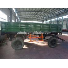 ATV towable fertilizer spreader production of fertilizer