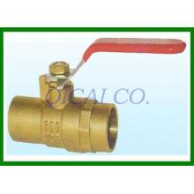 Bronze Fuel Shut Off Valves , ISO9001 / ETL certification p