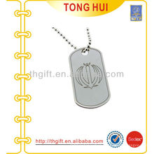 Two-piece dog tag necklace distributor imitation jewelry