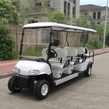 Cheap carro de golf de 4 plazas con motor de gas