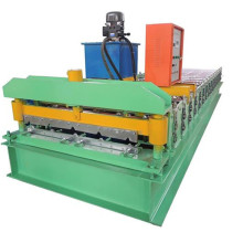 trapezoidal profile steel roofing sheets forming machine
