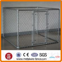 10x10x6ft gaiola galvanizada ao ar livre do cão