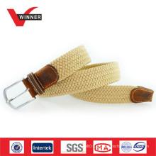 Hochwertige elastische Baumwolle und Ledergürtel