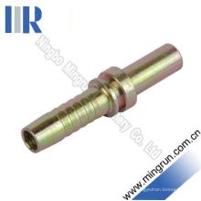 Encaixe de mangueira hidráulico de tubo vertical métrico reto (50011)