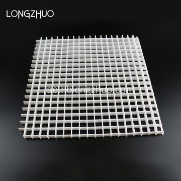 White Plastic Eggcrate Grille 1200mm * 600mm