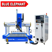 Blue elephant high quality big z axis 1212 cnc router with aluminum t slot table