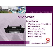Ventilación para el coche de elevador (SN-EF-FB9B)