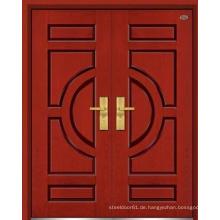 Außentür Holz Tür zeitgenössische hölzerne Außentür