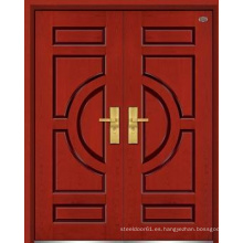 Puerta exterior madera puerta contemporánea puerta de madera exterior