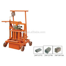 9 years experience cement manual block making machine for Hollow block making and solid brick making
