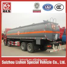 sinotruk HOWO fuel tank truck 8x4 drive 30-35M3 300-340hp