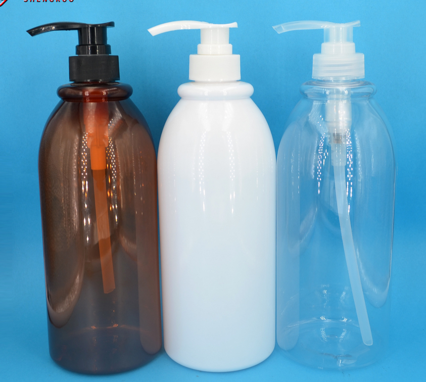 Cosmetic Packaging Pet Lotion Pump Bottle