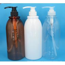 Botella de bomba de PET para cosméticos líquidos
