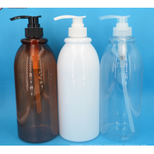 PET Pump Bottle For Liquid Cosmetic