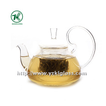 Clear Single Wall Glass Teapot by SGS (700ml)