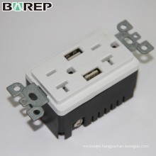 BAS20-2USB Customized electrical outlet smart plug multi outlet