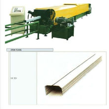 Competitive price colored steel rain spout forming machine
