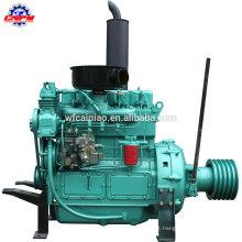 Bomba de água de 4 tempos fixada gerador diesel de energia ZH4102P
