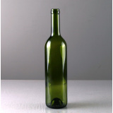 750ml Dark Green color Glass Wine Bottle 323mm Height