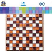 Mosaico de vidro Wall Decoration / TV Wall / Bathroom / Floor / Glass Mosaic
