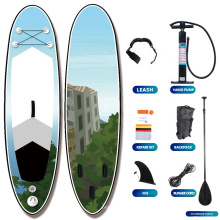 popular Manufacturer Hot Sale Water Sports Paddle Board  Allround Transaparent  Stand UP Paddle Board Inflatable