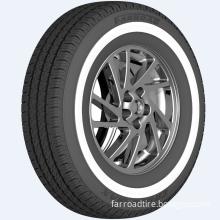 White Sidewall tyre 195R15C