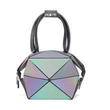 Geometric Purse Holographic Purse and Handbag Color Changes Luminous Purse and Wallet