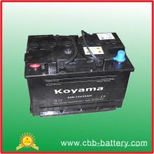 Batterie de voiture sans entretien 629-12V45ah