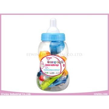Baby Rattles Toys in Nursing Bottle for Baby (6PCS)
